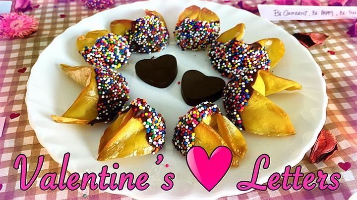 Valentines Love Letters Recipe